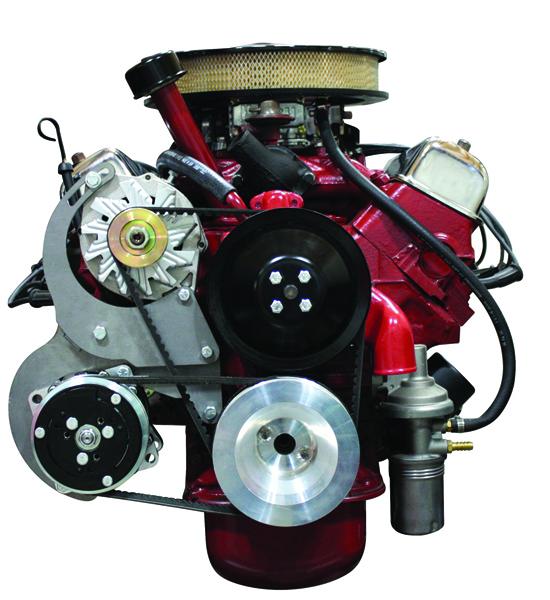 131111 Ford 272 312 Inch Y Block Compressor And Alternator