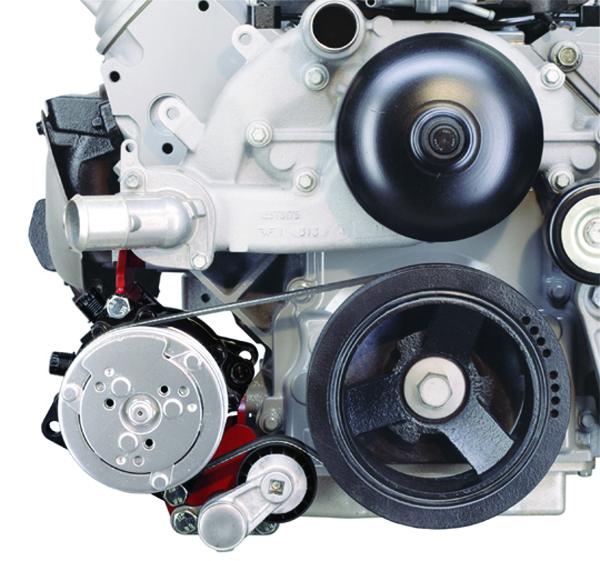 Vintage Air 141812 OEM Drive System Top-Mount Compressor Bracket System Fits Che