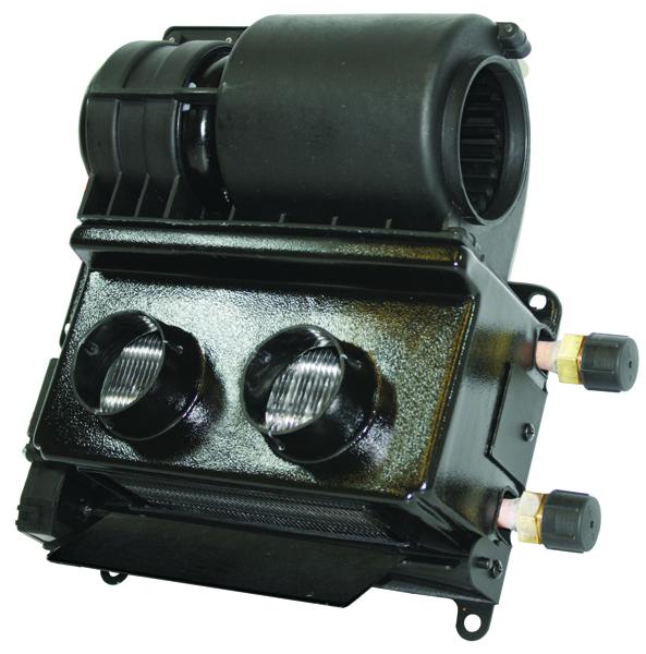 Vintage Air Gen II Universal 12 Volt Electric Heater w// Defrost /& 3 Knob Control