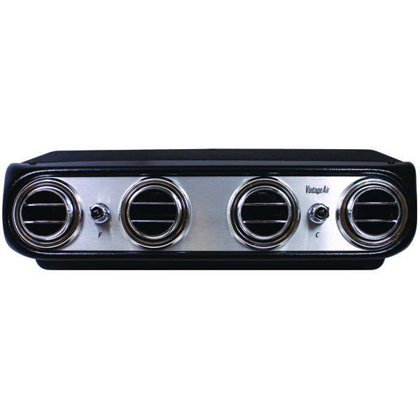 heritage under dash system cool only brushed aluminum