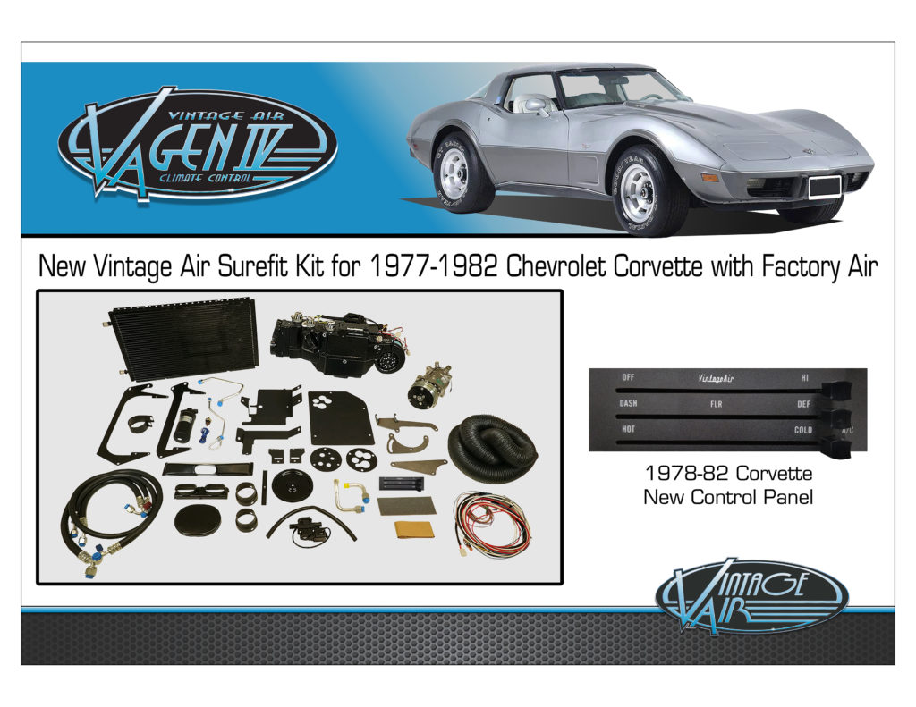 1977-82 Corvette kit Display Board TO PRINT SEMA